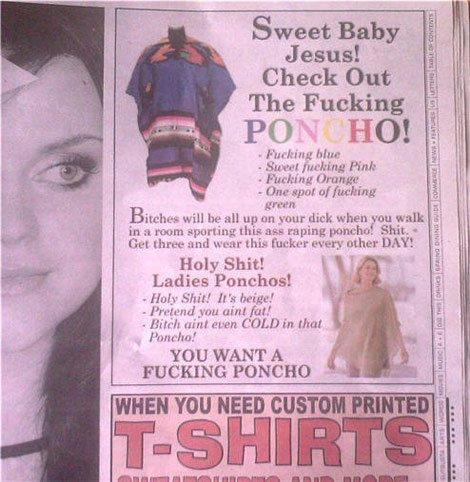 best_poncho_ad_ever